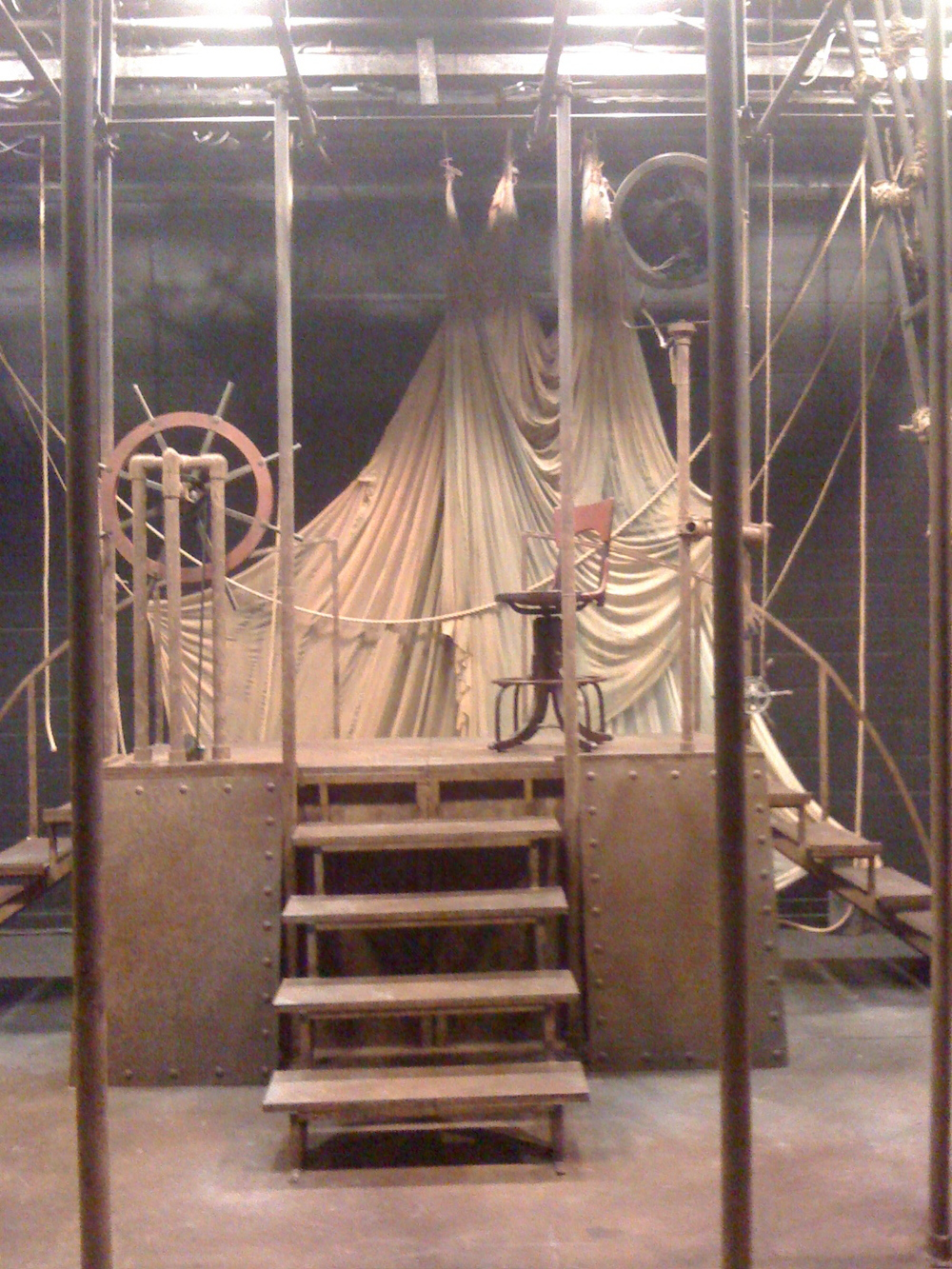 The Conwell Project- Temple Theater  Assistant Set Designer to Daniel Boylen