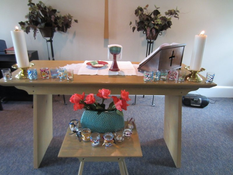 WOSA retreat altar