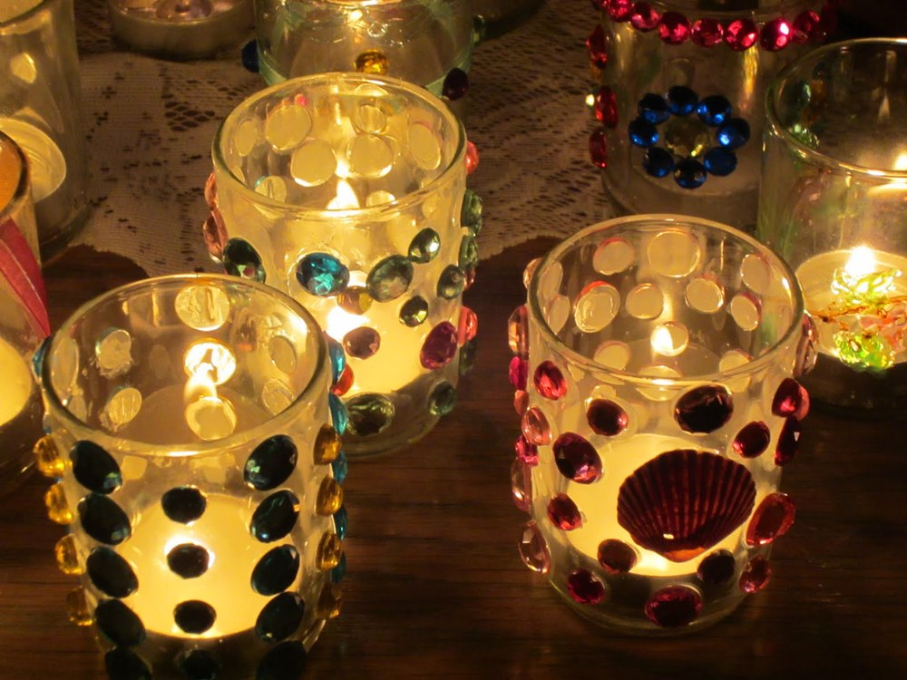 Votives made on retreat