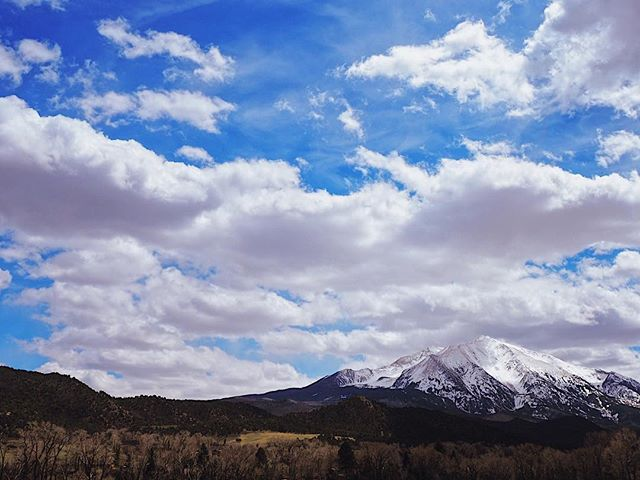 Mt. Sopris • Wandering in the mountains, I can't complain.