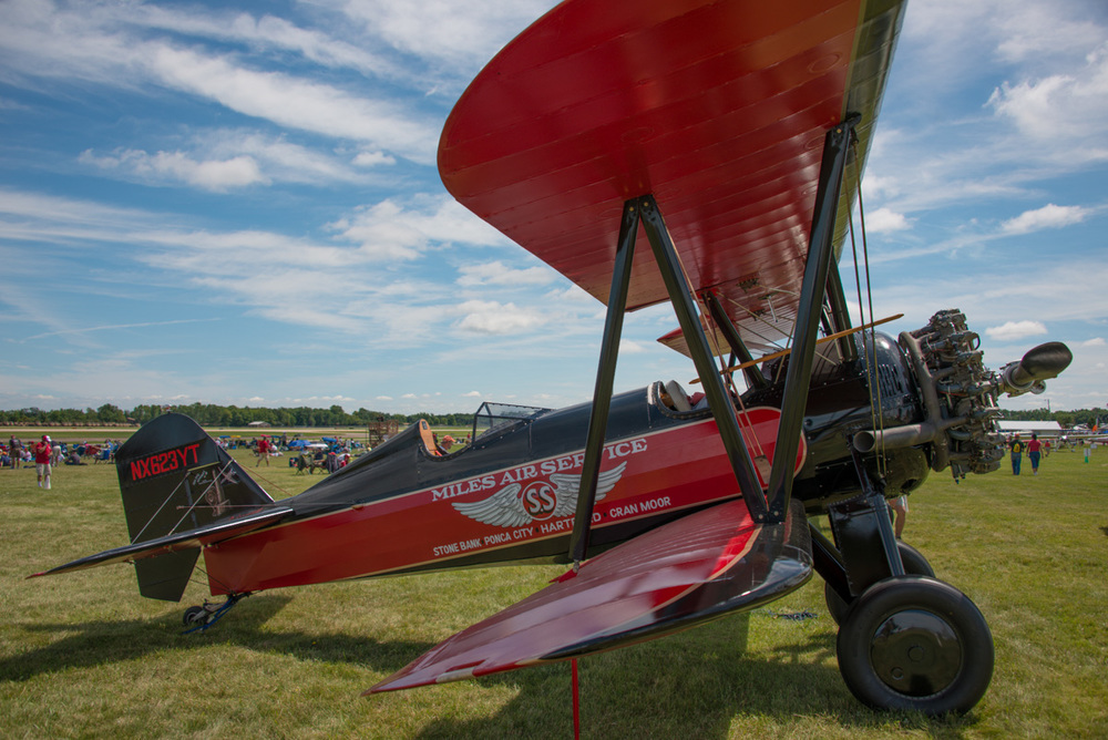 Photographed at the EAA AirVenture Air Show in Oshkosh.