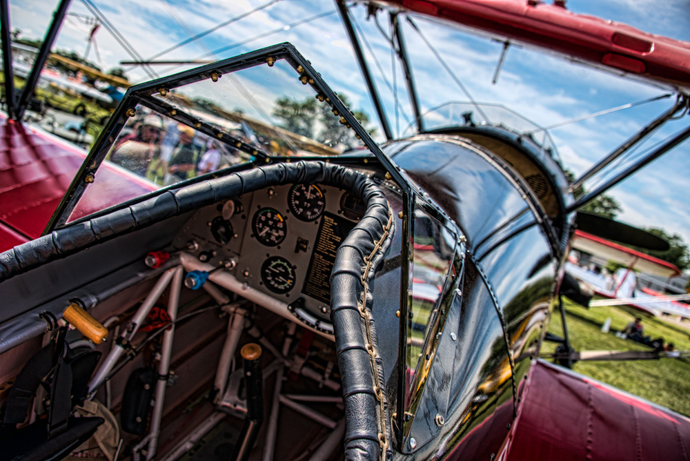 Photographed at EAA Air Venture in Oshkosh, Wisconsin