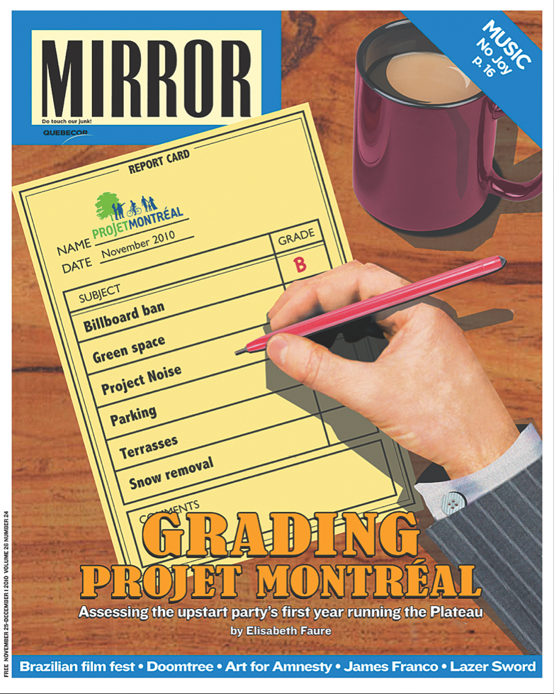 Mirror projet montreal