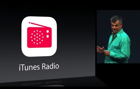 Eddie Cue announcing iTunes Radio at WWDC 2013