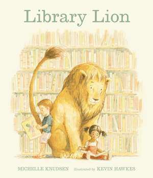 Library Lion cover