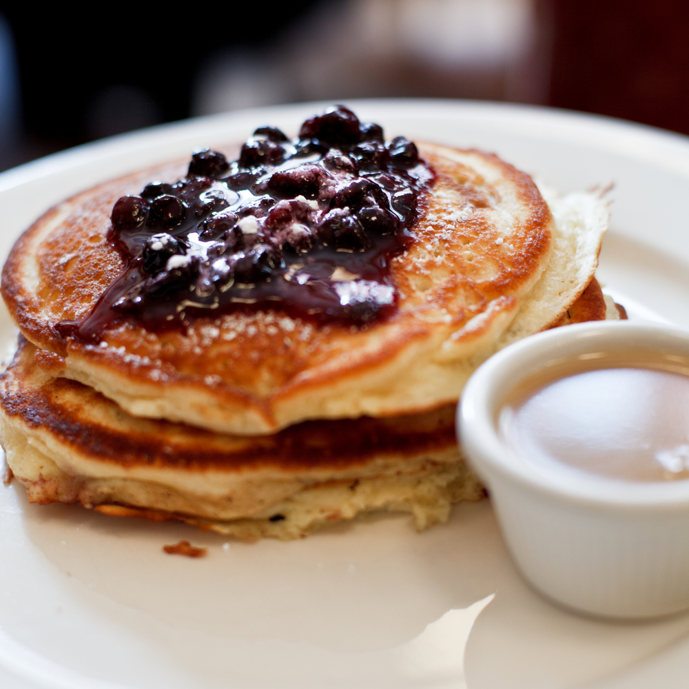 Pancakes from Clinton St. Baking Company