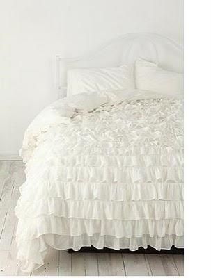urbanoutfitters bedspread ruffles