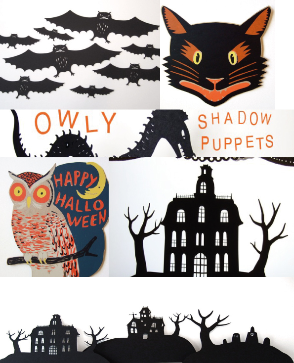 owl, halloween owl, scary cat, halloween cat, haunted house, cut-outs, laser cut, halloween