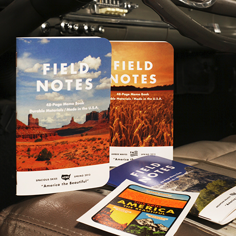 fieldnotes, field notes, notebook, america, america the beautiful