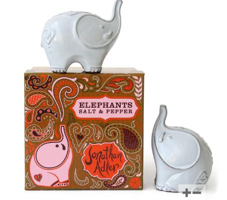 jonathan adler dahrjeeling elephant salt and pepper
