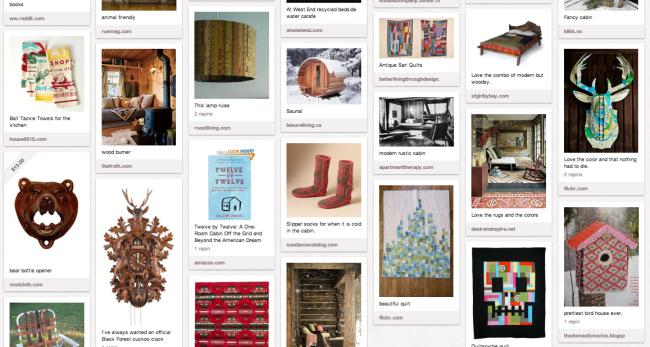 cabin, cabin decor, cabin ideas, quilts, rustic decor, pinterest