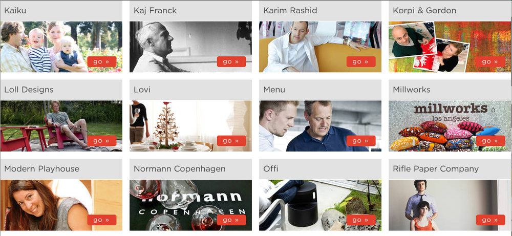 normann copenhagen, karim rashid, modern design, swedish modern, modern kitchen, modern playhouse, offi, rifle paper company