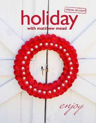 matthew mead, christmas wreath, wreath, holiday decor, holidays, christmas decor, holiday ideas, holiday entertainment, holiday recipes, cookie recipes, kids christmas, hanukkah decor, hanukkah ideas