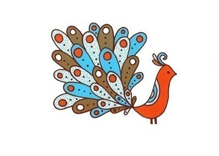 Jen Skelley Orange Bird
