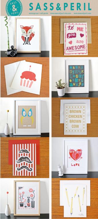 fox, fox print, owl, owl print, happy birthday, cupcake, birthday card, alphabet poster, alphabet print, lovemoustache, moustache card, flower print, pencil print