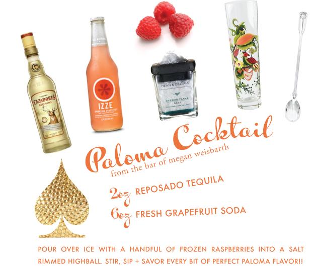 cocktails, paloma, grapefruit, domestica, party, drink recipe