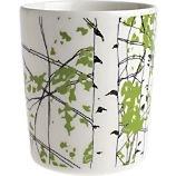 coffee cup, mug, cup, crate + barrel, crate and barrel, marimekko, merrimeko, marrimekko, merimekko