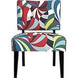 slipper chair, crate and barrel, crate + barrel, marimekko, merrimeko, marrimekko, merimekko