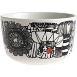 mug, coffee cup, cup, modern dishware, bowl, dishes, place setting, crate + barrel, crate and barrel, marimekko, merrimeko, marrimekko, merimekko
