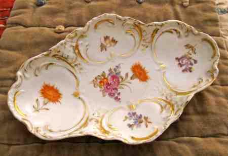 china, antique china, antique dish, hand-painted dish, ceramics