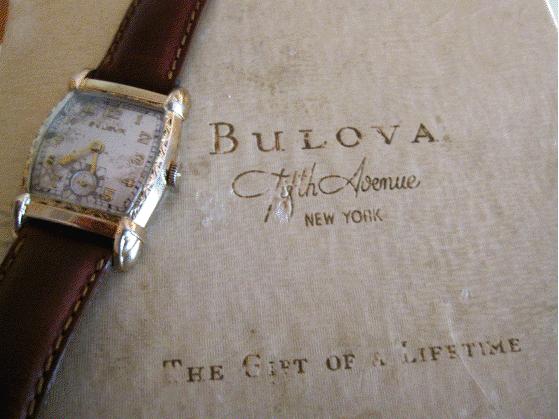 Bulova, antique Bulova, Bulova watch, antique watch, engraved watch