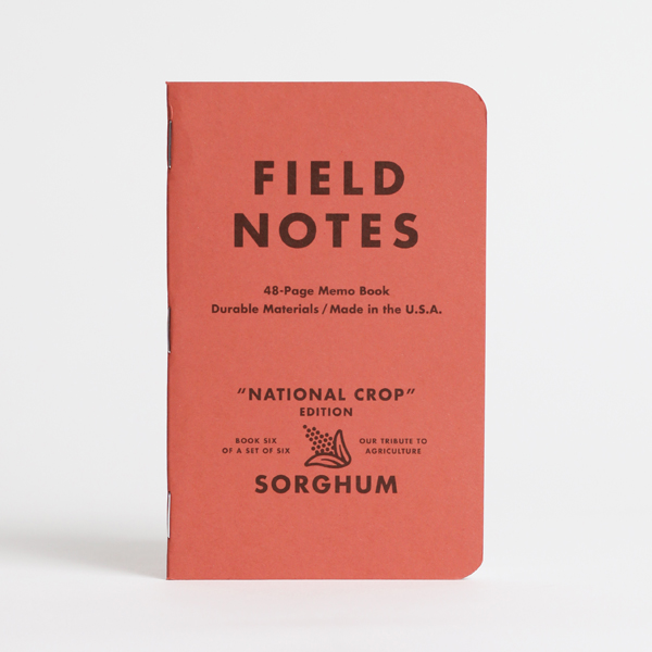 field notes, national crop edition, notebooks, memo book, moleskine, corn, soybeans, hay, sorghum, wheat, cotton, cool patch