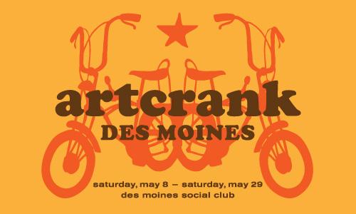 artcrank poster show des moines social club