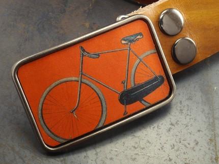 flight path designs bike belt buckle
