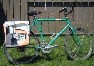 vinally bike pannier