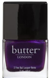 HRH, Her Royal Highness, Butter London, Nail Polish, Nail Lacquer, Nail Trends, Fall Nail Trends, Fall Runway, Fall Colors, Purples, Peacock Colors