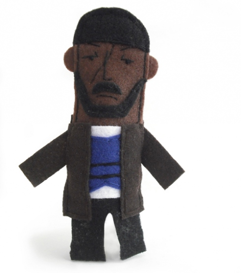 Omar Little, The Wire, puppet, finger puppet, Michael Williams