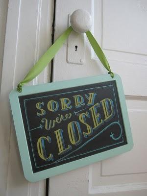 Sign by Mary Kate McDevitt