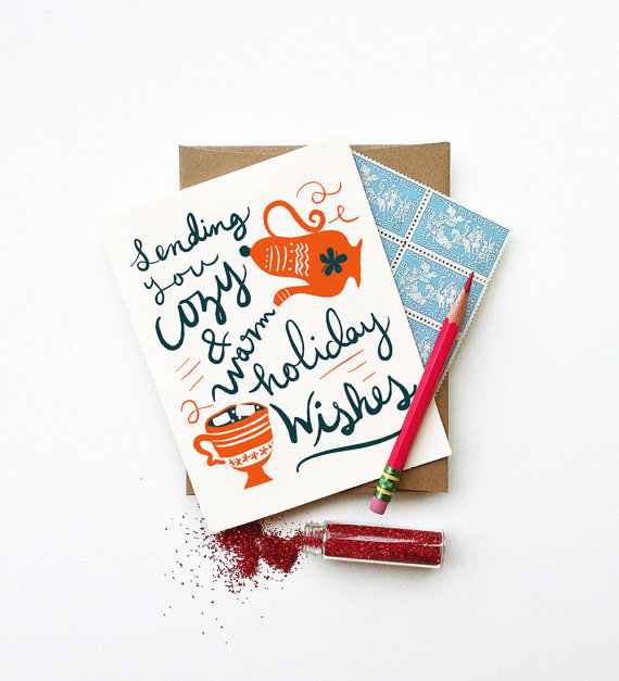 LITTLE LOW STUDIO COZY HOIDAY CARD