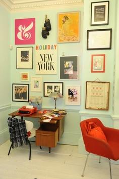 IRENE ZUCCARELLO'S STUDIOS + ORGANIZING PINBOARD