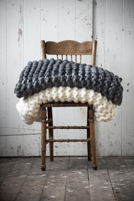 IT'S SO HOT, I'M THINKING ABOUT BLANKETS: MILO + MITZY'S CHUNKY THROWS