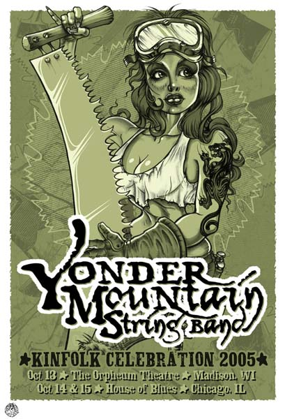 YMSB POSTER BY DROWNING CREEK STUDIO (ARTIST JEFF WOOD)
