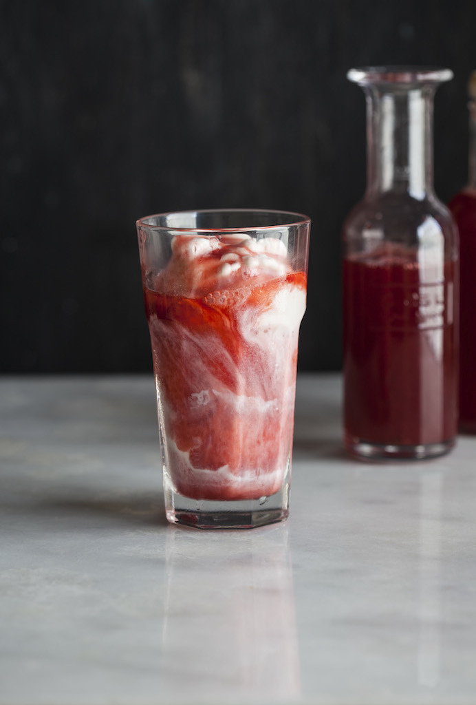 It's almost too late for this post, but if you can eke out a few, this recipe for homemade Strawberry Syrup from Food 52 is a keeper. Make it now, or bookmark it for later.