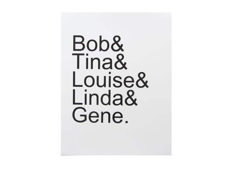 bob's burgers card cult paper