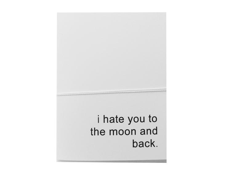 i hate you card cult paper