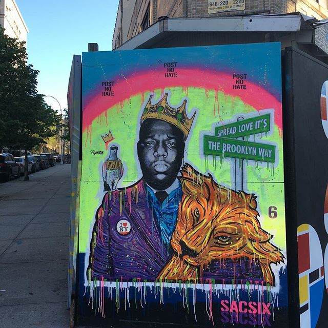 Biggie mural photo