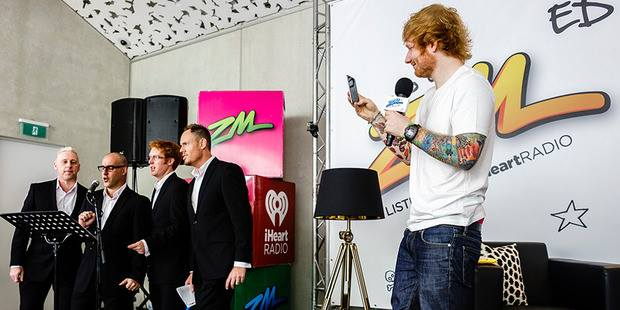 TVN with Ed Sheeran