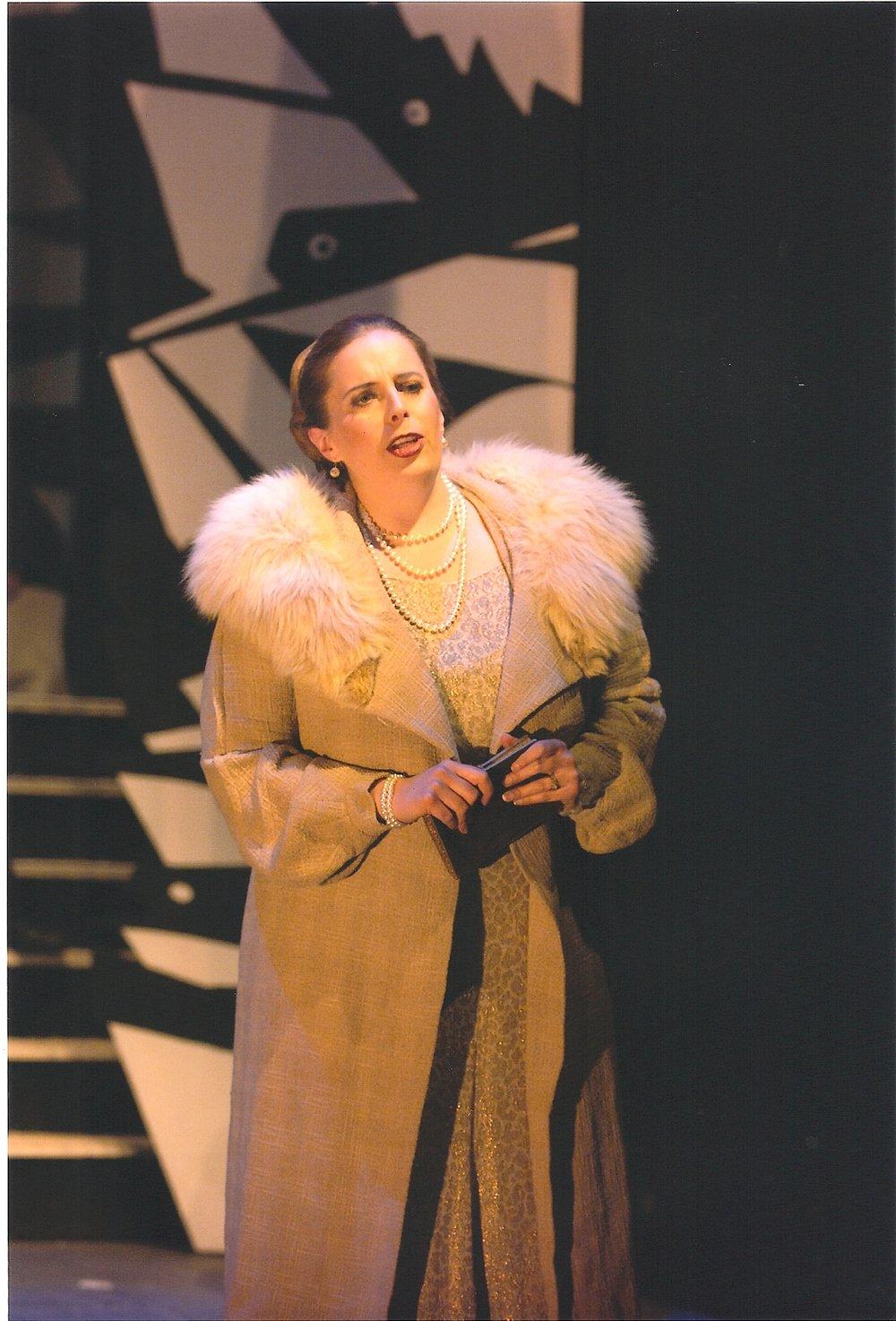 "Amanda Atlas as Magda in ""The Consul "", New York City"
