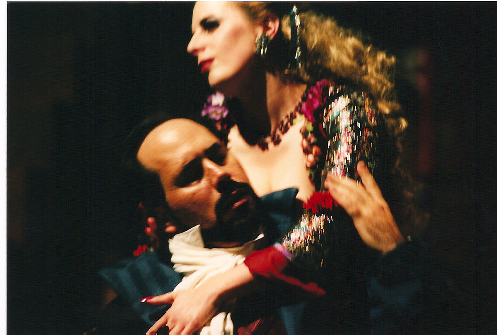 """Ravil and Amanda as Hoffmann and Giulietta in """"Tales of Hoffmann"""", New York City"""