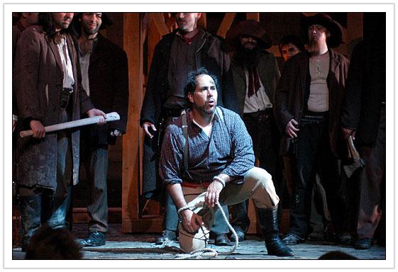 """Ravil Atlas as Dick Johnson in """"La Fanciulla del West"""", London"""