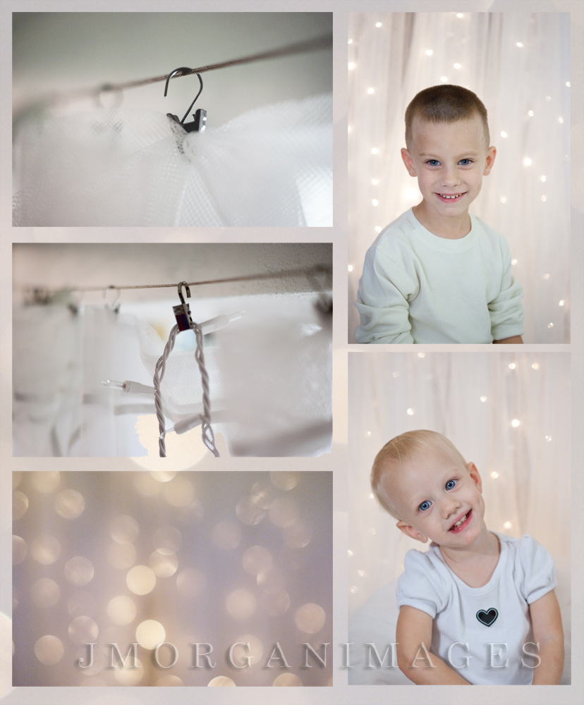 DIY lighted backdrop-for anyone, not just 'pros'