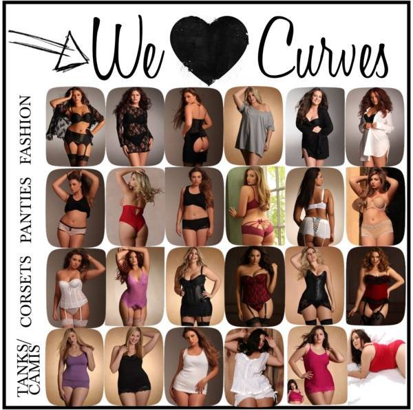 Everything seen here can be found at hipsandcurves.com lingerie to bring out your inner goddess!