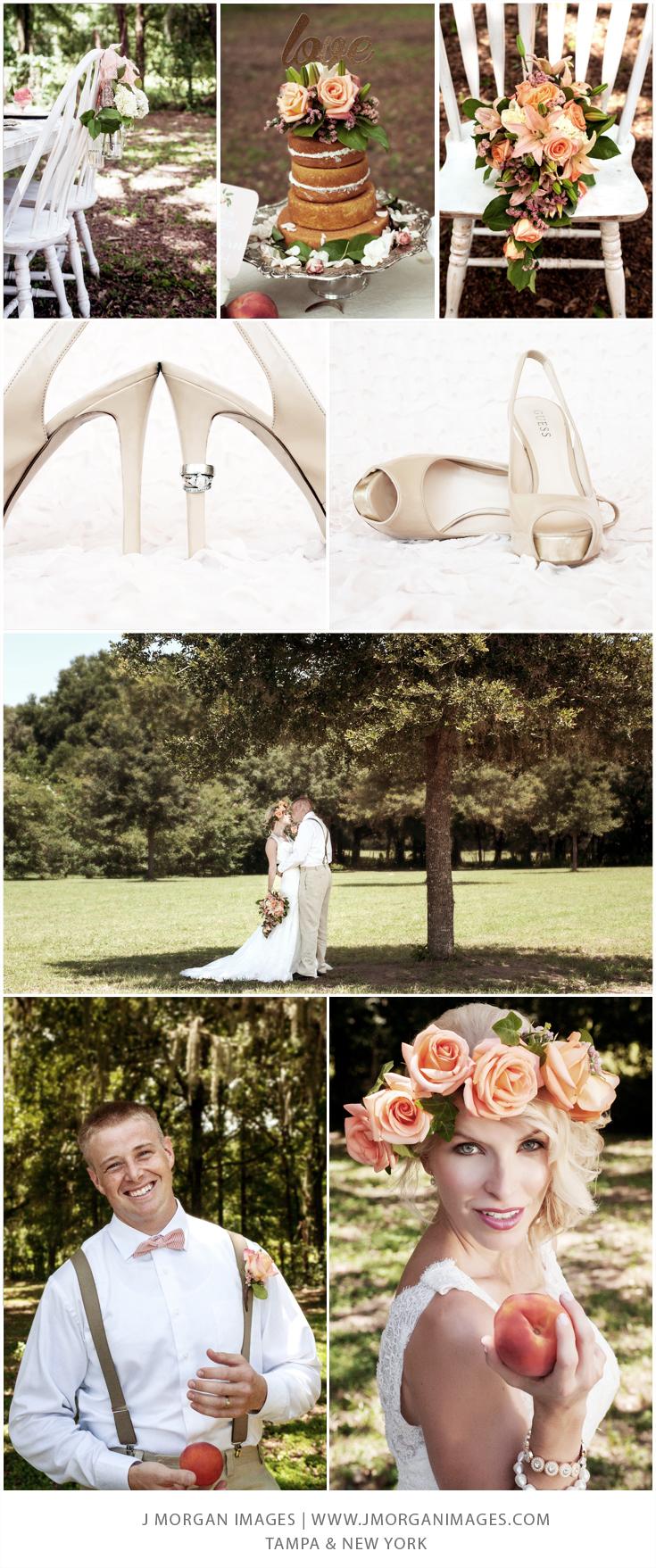 A Florida Peach Wedding by J Morgan Images