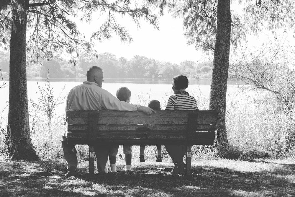 medard family portrait bw