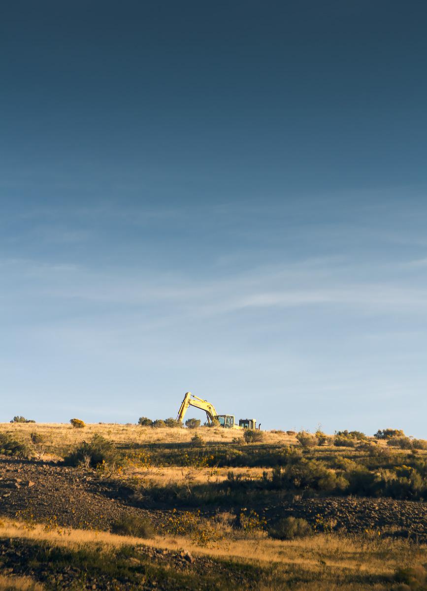 Lone Excavator