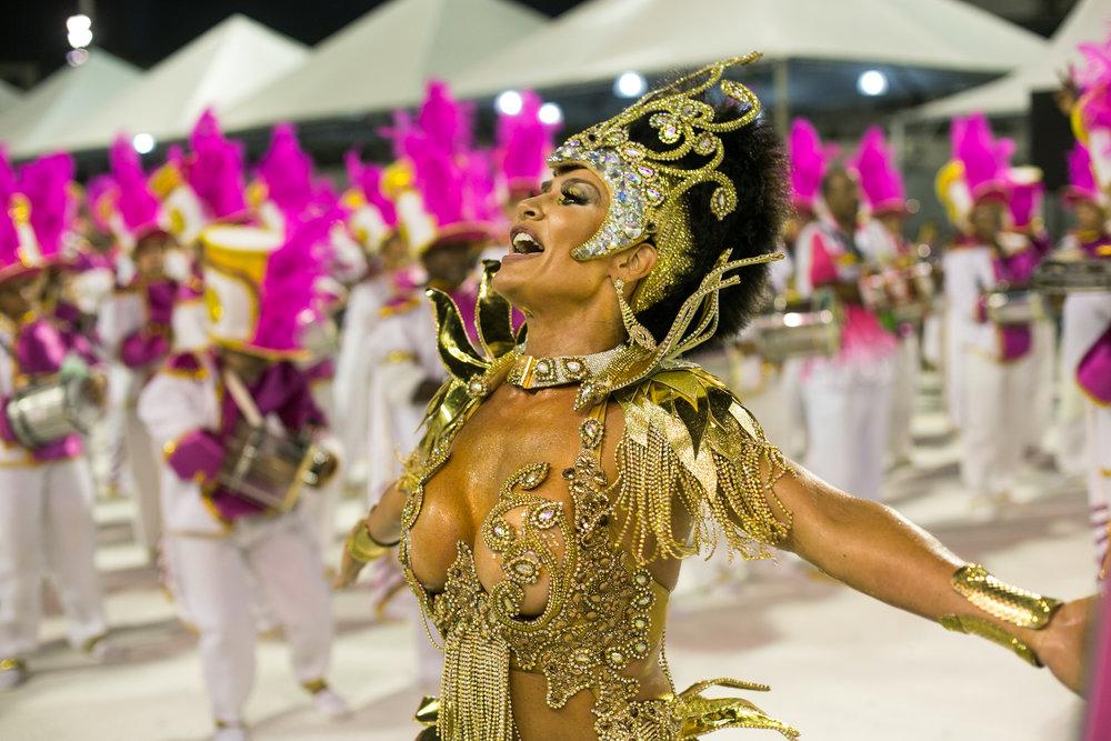 Scheila Carvalho Carnaval Santos 2017